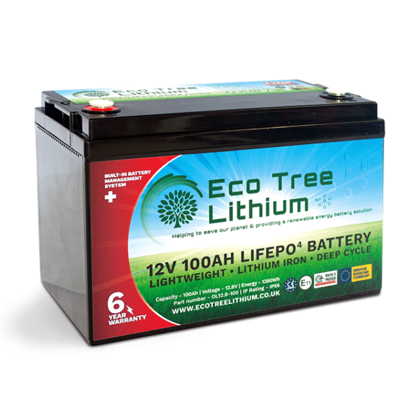 100AH LiFePO4 Lithium Battery