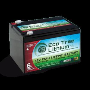 12AH LiFePO4 Lithium Battery