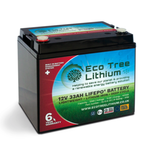 33AH LiFePO4 Lithium Battery