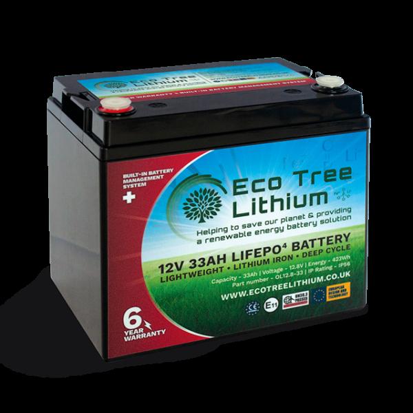 33AH LiFePO4 Lithium Battery